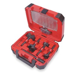 Milwaukee Electric Tool - 49-22-5100 - 5 pc. Switchblade[TM] Plumbers Kit w/Compact Carrying Case