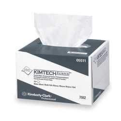 Kimberly-Clark - 05511 - Disposable Wipes, 4-2/5 x 8-2/5, 280 Wipes per Container, 60 PK