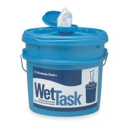 Kimberly-Clark - 09361 - KIMTECH WetTask System Wipers - Wipe - 3.50 gal (448 fl oz) - 2 / Carton - Blue