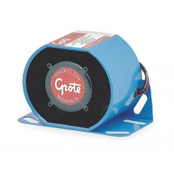 Grote - 73080 - Back Up Alarm, 87 to 112dB, Blue, 4 In. H