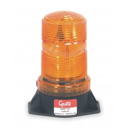 Grote - 77013 - Strobe Light, Yellow, Permanent, Flash Tube