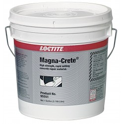 Loctite - 95551 - Concrete Repair, 2 Part, Gray, 1 Gal, Kit