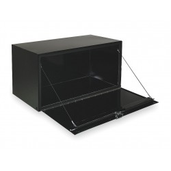Jobox - 1-005002 - Steel Underbody Truck Box, Black, Single, 5.6 cu. ft.