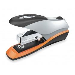 Acco Brands - S7087875 - Flat Clinch Stapler, 70 Sheet, Blk/Silver