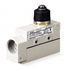 Omron - ZE-N-2S - Plunger General Purpose Limit Switch; Location: Top, Contact Form: SPDT, Standard Movement