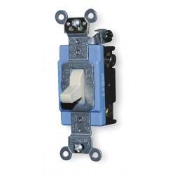 Leviton - 1204-2I - Leviton 1204-2I 4-Way Toggle Switch, 15A, 120/277V, Ivory, Industrial Grade