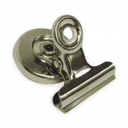 Other - 2WFW6 - 1W Magnetic Bulldog Clip, Silver