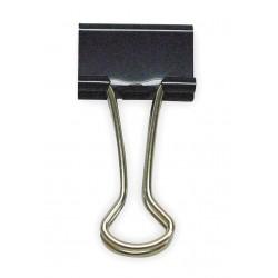Other - 2WFX8 - Binder Clip, 2 In, Metal, Black, PK12