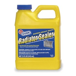 Radiator Specialty - C2016 - 15 oz. Plastic Bottle Radiator Sealer, Green