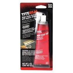 Radiator Specialty - T703V - Hi-Temp Red RTV Silicone Sealant, 3 oz.