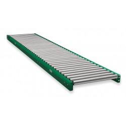 Ashland Conveyor - 10F10KG45B16 - Roller Conveyor, 10 ft. L, 16BF