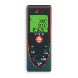 Leica Geosystems - D2 - Laser Distance Meter 330 ft. Max. Distance, 1/16 Accuracy