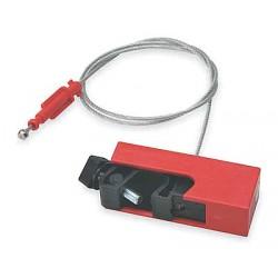 Brady - 51254 - Circuit Breaker Lockout, 120, Clamp-On Lockout Type, Fiberglass Reinforced Polyurethane