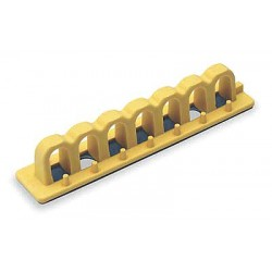Brady - 51256 - Circuit Breaker Lockout Rail, 480/600, Rail Lockout Type, Fiberglass Reinforced Nylon