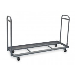 "Akro-Mils / Myers Industries - R214CS1878 - 48""H x 18""W Steel Mobile Bin Cart, 1500 lb. Load Capacity"