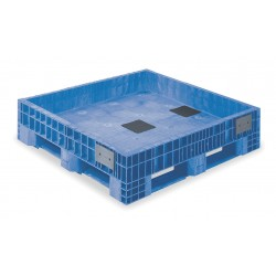 Buckhorn / Myers Industries - BF484515XP23000 - Bulk Container, Blue, 15H x 48L x 45W, 1EA