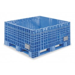 Buckhorn / Myers Industries - BF484519XP23000 - Bulk Container, Blue, 19H x 48L x 45W, 1EA