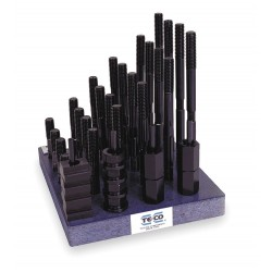 TE-CO - 20606 - T-Nu/Stud Kit, Use W/ 5/8, 38 Pcs