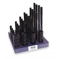 TE-CO - 20611 - T-Nu/Stud Kit, Use W/ 13/16 In, 38 Pcs