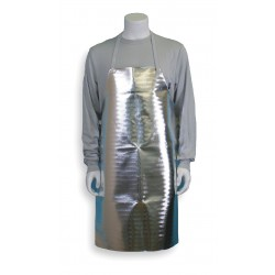 National Safety Apparel - A02NL24X36 - 36 19 oz. Aluminized Carbon Kevlar Bib Apron with Buckle
