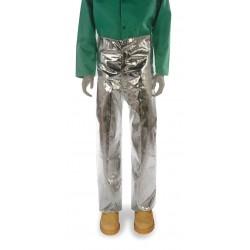 National Safety Apparel - T45NLLGX32 - Pants, Aluminized Carbon Kevlar(R), L