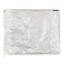 Other - 136-1215-20 - 15L x 12W Standard Reclosable Poly Bag with Drawstring Closure, Clear; 1.5 mil Thickness