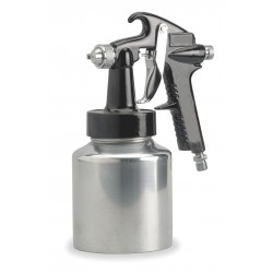 Speedaire - 2Z363 - Siphon/Pressure Spray Gun, 0.050In/1.3mm