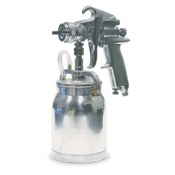 Speedaire - 2Z366 - Siphon Spray Gun, 0.070In/1.8mm
