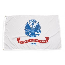 Annin - 439035 - US Army Armed Forces Flag, 3 ft.H x 5 ft.W, Outdoor