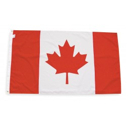 Annin - 191337 - Canada Country Flag, 3 ft.H x 5 ft.W, Outdoor