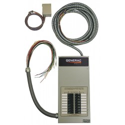 Generac - RTG14EZA1 - Generac RTG14EZA1 14 Circuit ATS Transfer Switch and Load Center, 100 A
