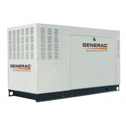 Generac - QT04854ANAX - Generac QT04854ANAX Generator, Standby, 48kW, 120/240VAC, 200A, @240V, Pad Mount, LP/NG