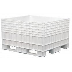 Buckhorn / Myers Industries - BF48442900SG000 - Bulk Container, White, 29H x 48L x 44W, 1EA