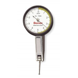 L.S. Starrett - 708ACZ - Dial Test Indicator, Hori, 0 to 0.010 In