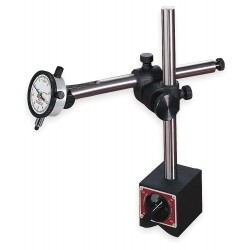 L.S. Starrett - 659BZ - Balanced Reading Indicator with Magnetic Holder, AGD 2, 2.250 Dial Size, 0 to 0.125 Range