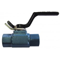 Cameron - 11/2-F-B138-CS-42-CS-WR - Carbon Steel FNPT x FNPT Ball Valve, Locking Lever, 1-1/2 Pipe Size