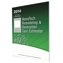 HomeTech Publishing - AB 02 RR - Cost Estimating Book, Remodeling and Renovation, English, AB, Edmonton and Vicinity, Paperback