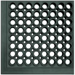 Crown Mats / Ludlow Composites - WS CT31BK - Drainage Mat, Black, 10 ft. x 3 ft., Rubber, 1 EA