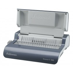 Fellowes - 5216901 - Binding Machine, Comb, Metallic Gray