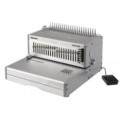 Fellowes - 5643201 - Binding Machine, Comb, Light Gray