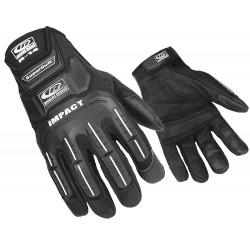 Ringers Gloves - 143-13 - Glove, Impact Resistant, 3XL, Black, Pr