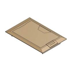 Thomas betts steel city 664 cst sw brs floor box for Steel city floor boxes