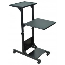 AmpliVox - SN3355 - Multimedia Presentation Projector Stand Black