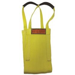 Stren-Flex - LB1-916-6 - 6 ft. Heavy-Duty Nylon Cargo Basket Web Sling, Yellow