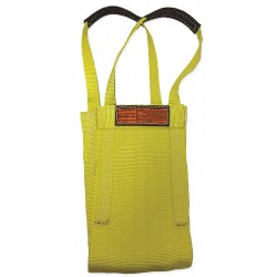 Stren-Flex - LB2-916-16 - 16 ft. Heavy-Duty Nylon Cargo Basket Web Sling, Yellow