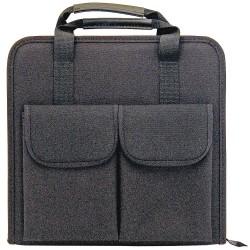 Platt Cases - 665ZT - Tool Case, Black Nylon, 2 Height, 13 Width, 12-1/2 Depth