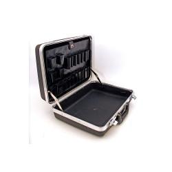 Platt Cases - 836T-C - Tool Case, 18-1/4x15-1/2x7-1/4, Black