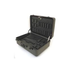 Platt Cases - 978T-CB - Tool Case, 19x14x9, Black