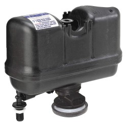 Sloan Valve - M-101526-F3B - Plastic Pressure Assist System, Black, For Use With Most Toilets