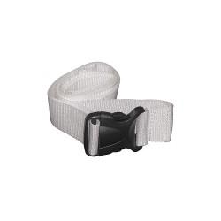 MedSource - MS-95015RM - Strap, White, 100 in. L, PK50